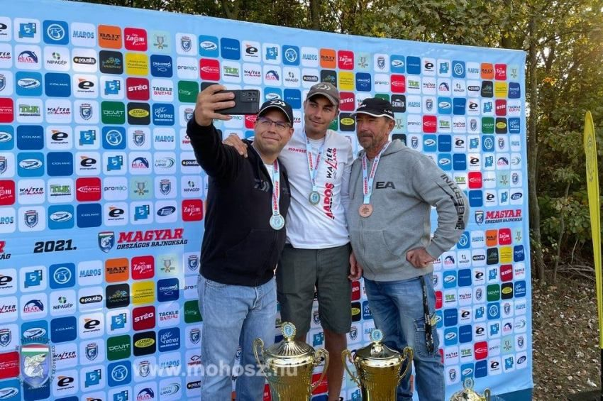 A két vb-arany után bajnoki címét is megvédte Bakó Péter