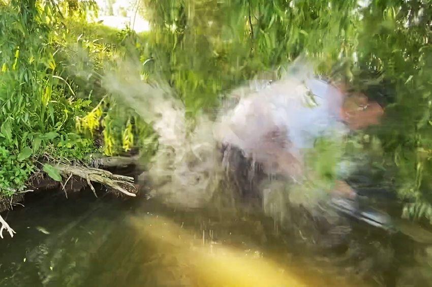 Hihetetlen! Harcsa rántott vízbe egy horgászt Somogy megyében