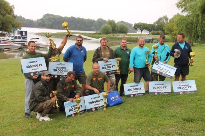 Az Esztergomi Snecizők Team nyerte a Kemhesz Nagyhalfogó Horgászversenyét