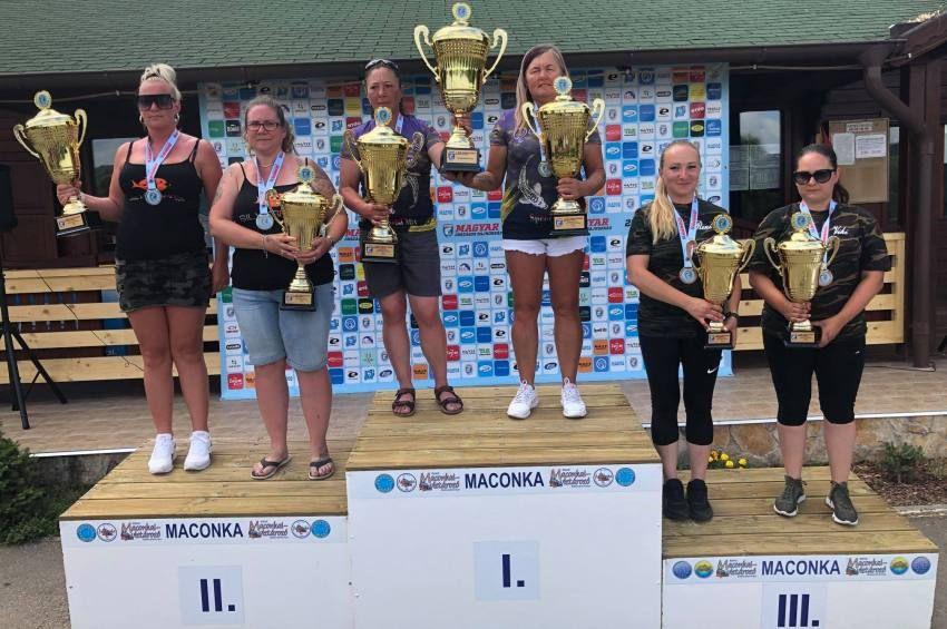 Toronymagasan a QuickBaits Girls nyerte az I. Női Pontyfogó OB-t